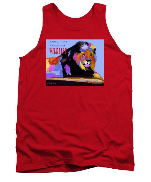 Protect Our Endangered Wildlife Tank Top