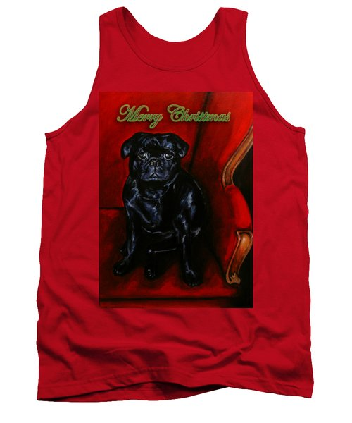 Puggsley Christmas Tank Top