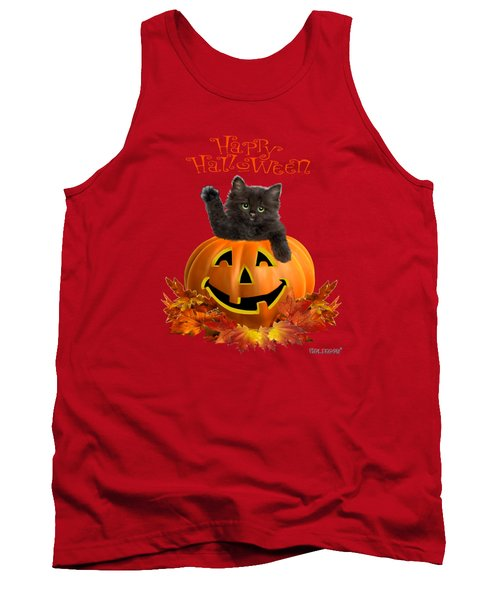 Pumpkin Kitty Tank Top