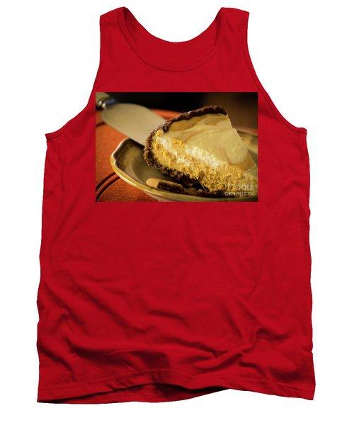 Tank Top featuring the photograph Pumpkin Pie Cheese Cake by Deborah Klubertanz