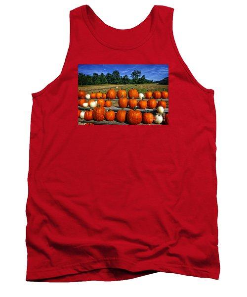 Pumpkins In A Row Tank Top