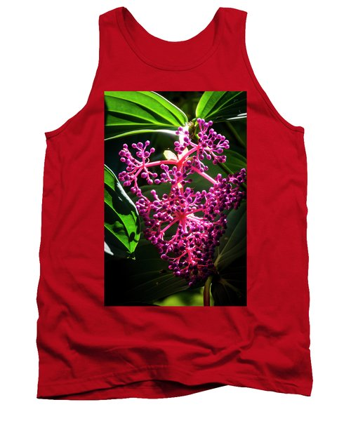 Purple Plant Tank Top