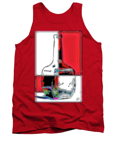 Tank Top featuring the photograph Quad Bottle by Walt Foegelle