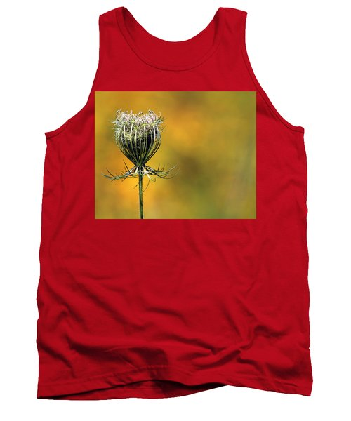 Queen Anne's Lace Stony Brook New York Tank Top by Bob Savage