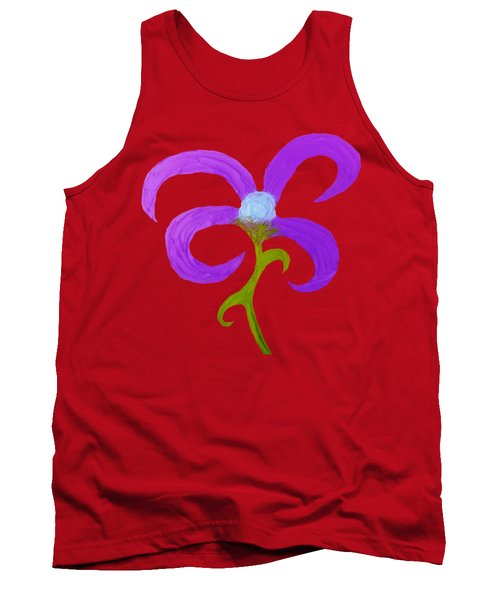 Quirky 3 Tank Top