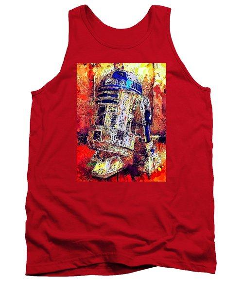 R2 - D2 Tank Top
