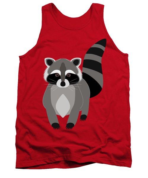 Raccoon Mischief Tank Top