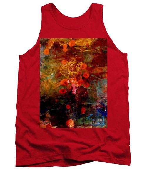 Radiant Red Tank Top by Nancy Kane Chapman