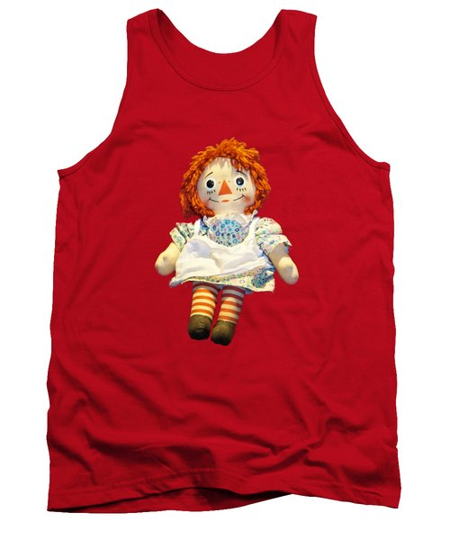 Raggedy Ann Doll Tank Top