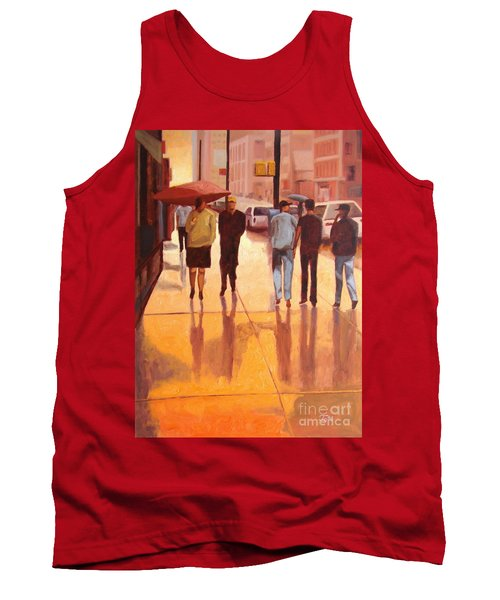 Rain In Manhattan Number Eighteen Tank Top