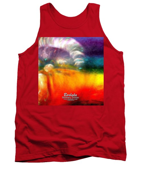 Tank Top featuring the photograph Rainbow Bliss #052833_ii by Barbara Tristan