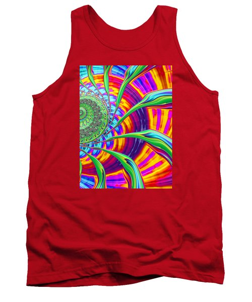 Tank Top featuring the photograph Rainbow Sun by Ronda Broatch