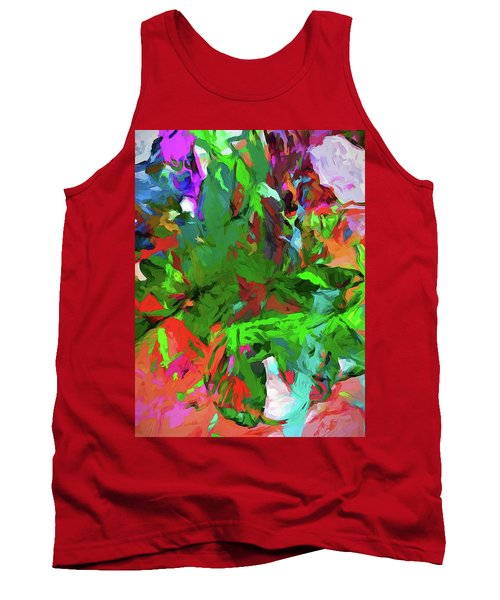 Rainbow Tropic Tank Top