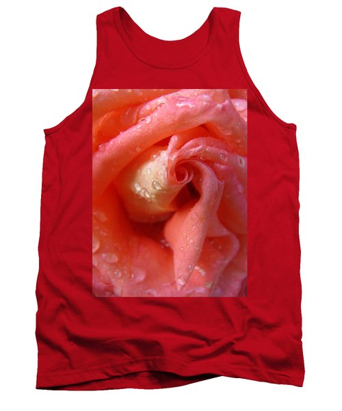 Raindrops On Roses 2 - Beauty In The Garden Tank Top