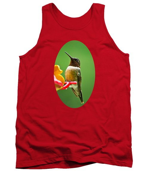 Rainy Day Hummingbird Tank Top