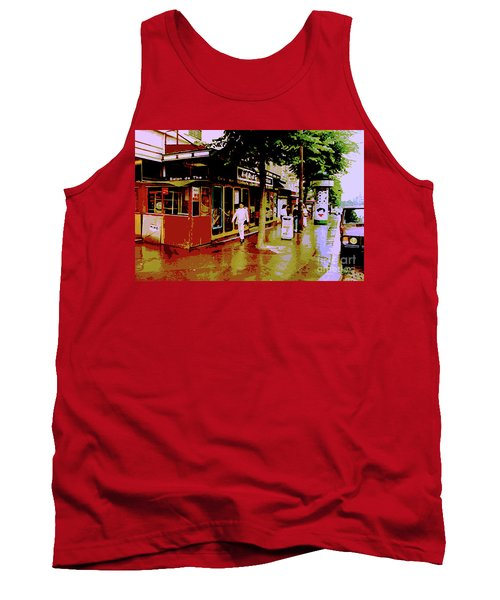 Rainy Day In Paris Tank Top