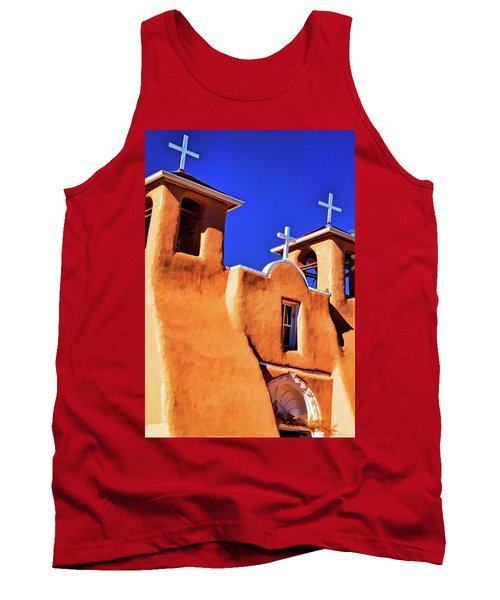 Ranchos De Taos Church Tank Top