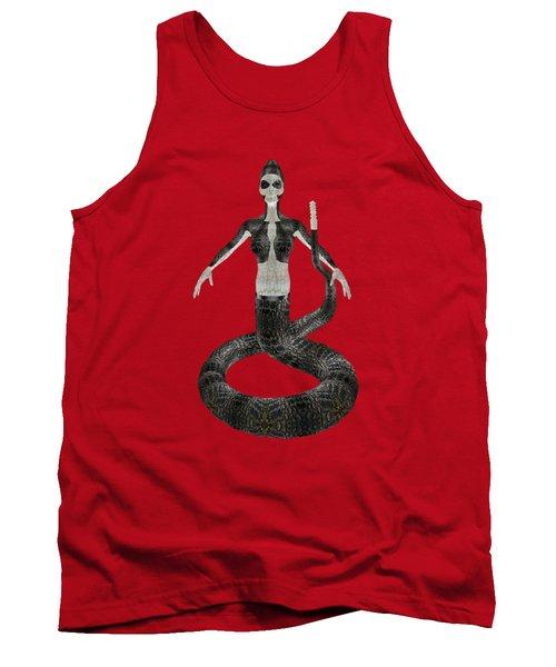 Rattlesnake Alien World Tank Top by Dora Hembree