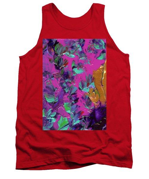 Razberry Ocean Of Butterflies Tank Top