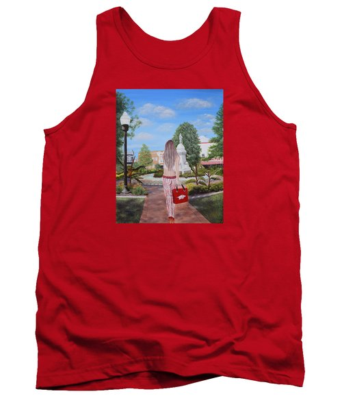 Razorback Swagger At Bentonville Square Tank Top