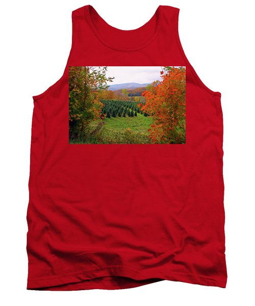 Ready For Christmas Tank Top by Dale R Carlson