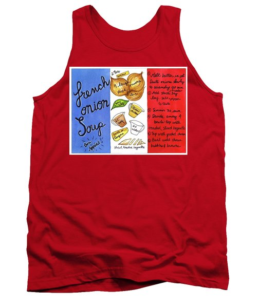 Recipe French Onion Soup Tank Top