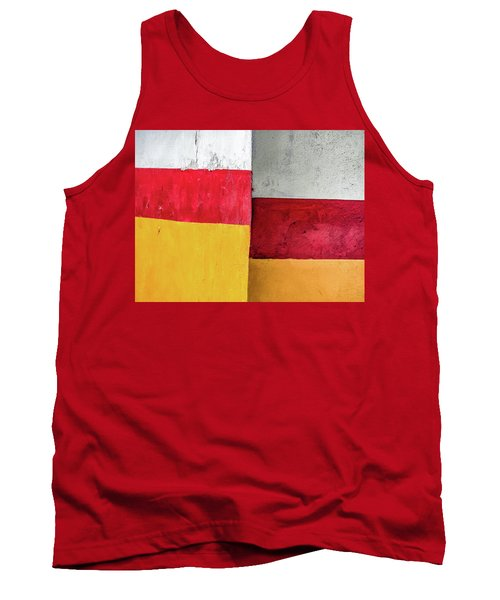 Rectangles With Presence Tank Top
