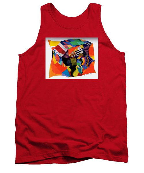 Recycled Art Tank Top by Paul Meinerth