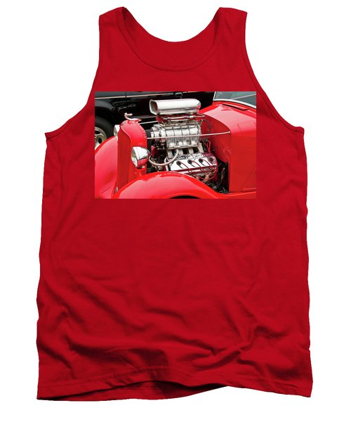 Tank Top featuring the photograph Red 1992 by Guy Whiteley