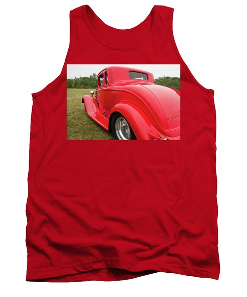 Tank Top featuring the photograph Red 1994 by Guy Whiteley