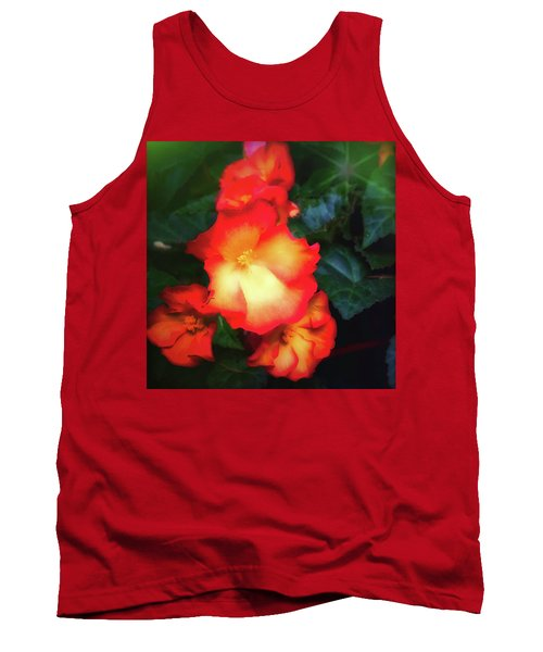 Red  And Yellow Tank Top