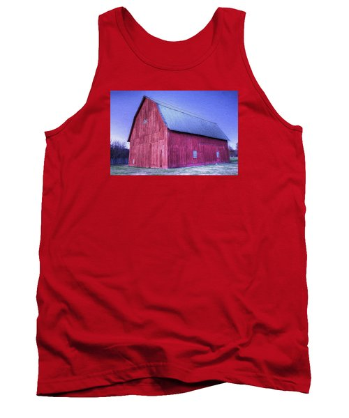 Red Barn Tank Top