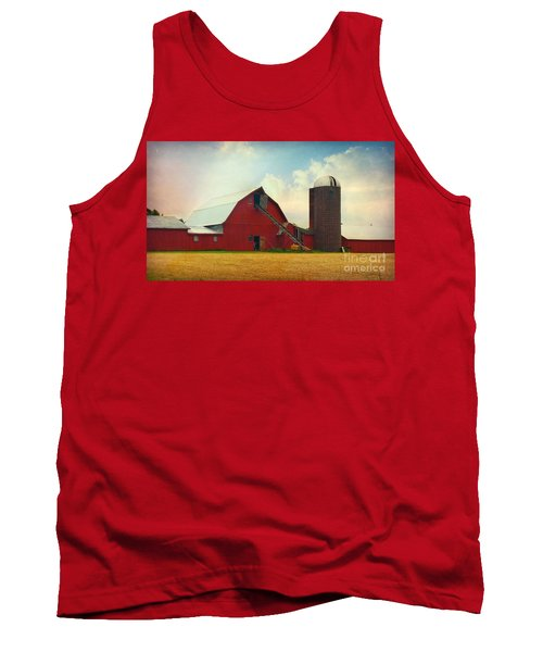 Red Barn Silo Tank Top