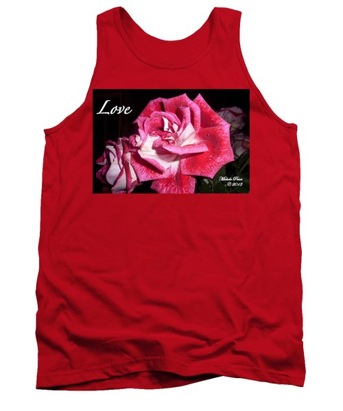 Red Beauty 3 - Love Tank Top