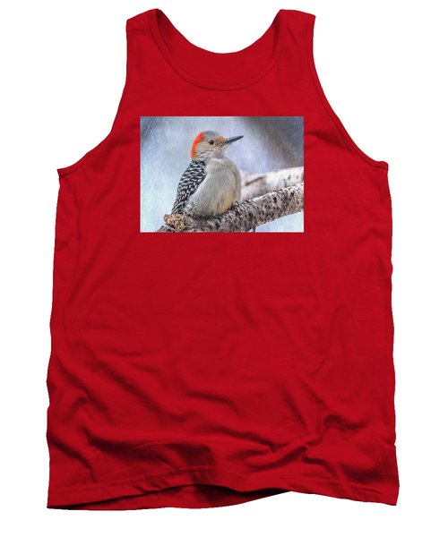 Red-bellied Woodpecker Tank Top by Patti Deters