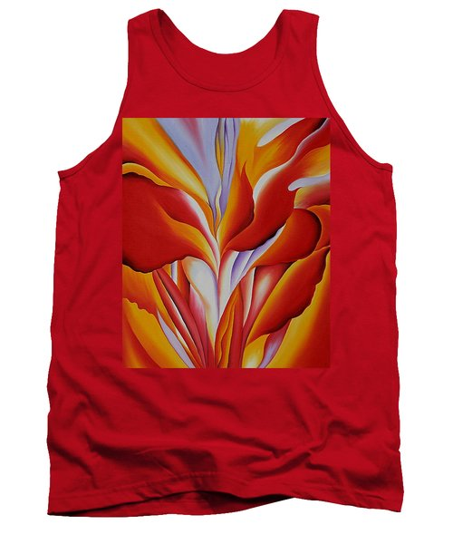 Red Canna Tank Top