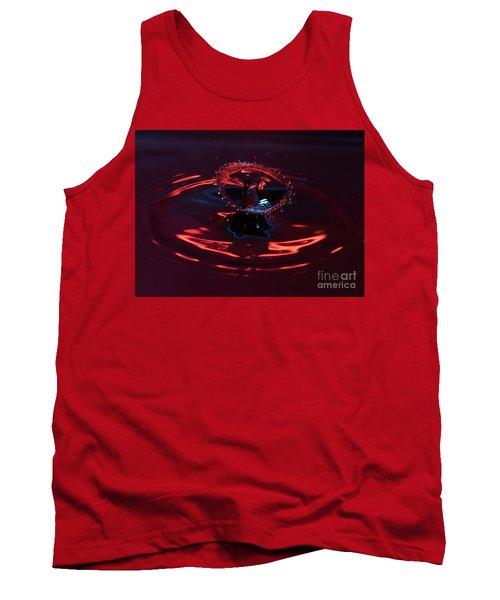 Red Carousel Tank Top