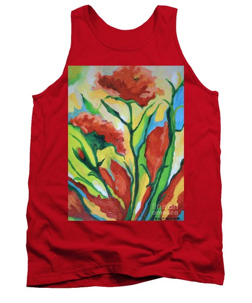 Red Delight Tank Top