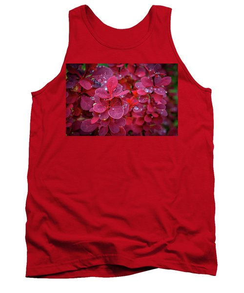 Red Dew Tank Top