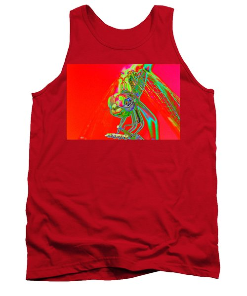 Red Dragon Tank Top by Richard Patmore