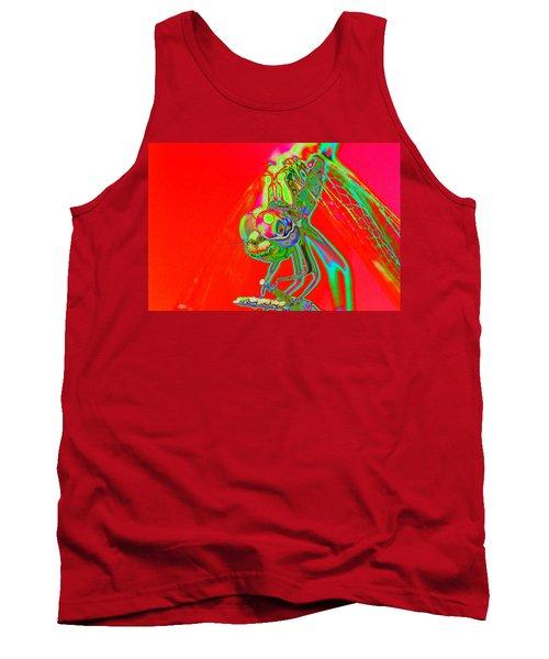 Red Dragon Tank Top
