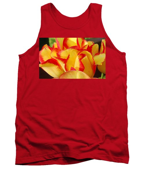 Red-edged Tulips Tank Top