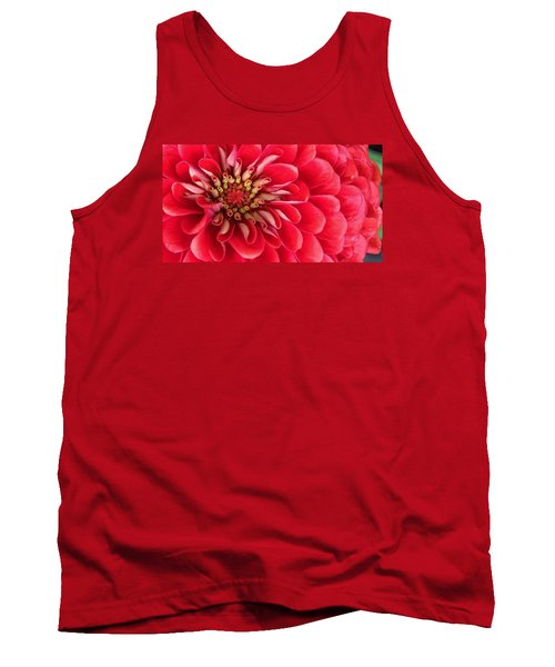 Red Explosion Tank Top by Bruce Bley
