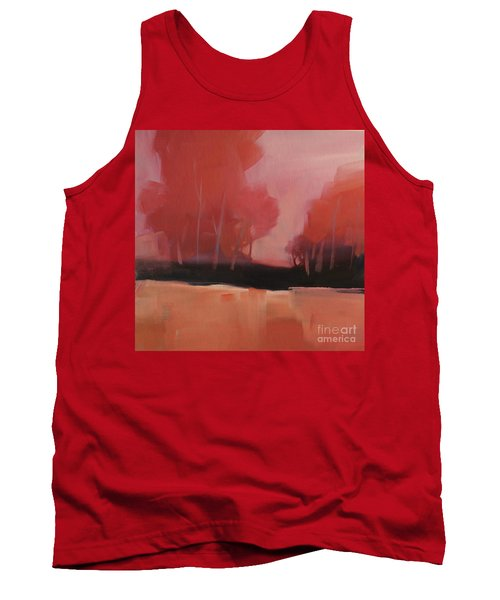 Red Flair Tank Top
