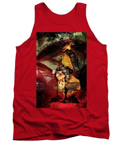 Red Girl Tank Top