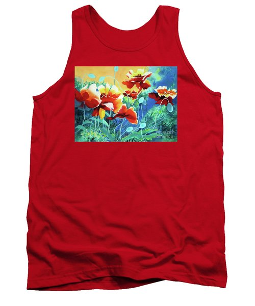 Red Hot Cool Blue Tank Top