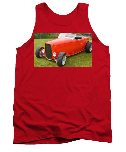 Red Hot Rod Tank Top