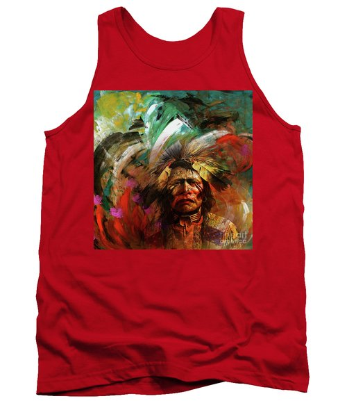 Red Indians 02 Tank Top
