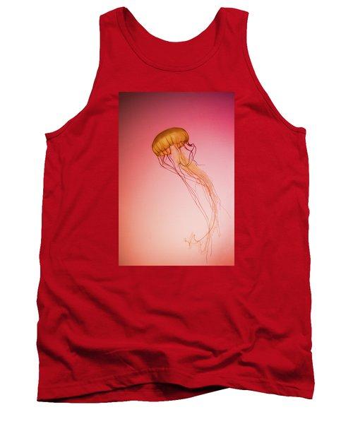 Red Jellyfish Tank Top