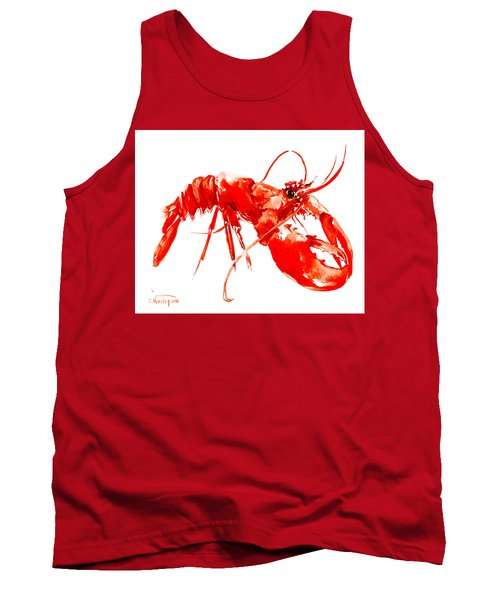 Red Lobster Tank Top by Suren Nersisyan